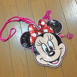 ディズニー(Disney)のミニー パスケース(ポーチ)