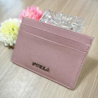 フルラ(Furla)のフルラ★ピンクカードケース定期入れ(パスケース/IDカードホルダー)