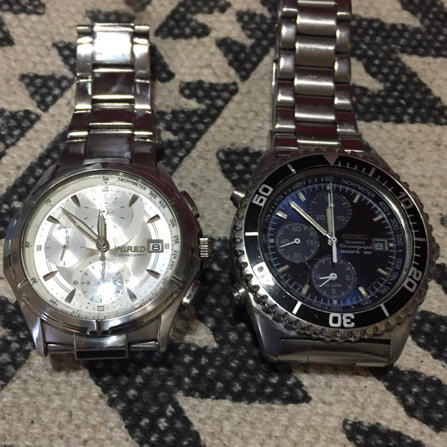SEIKO - 腕時計2本セット//SEIKO・WIREDの通販 by B-D-SHOP|セイコーならラクマ