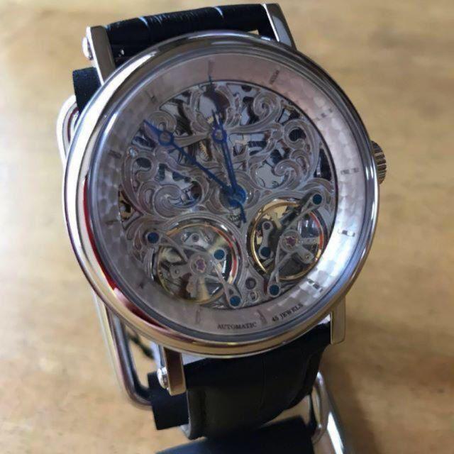 新品✨アルカフトゥーラ スケルトン 自動巻き メンズ 腕時計 P091601BKの通販 by てっちゃん(´∀`)|ラクマ