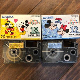 カシオ(CASIO)の☆カシオ ネームランド ディズニーテープ2種☆(テープ/マスキングテープ)