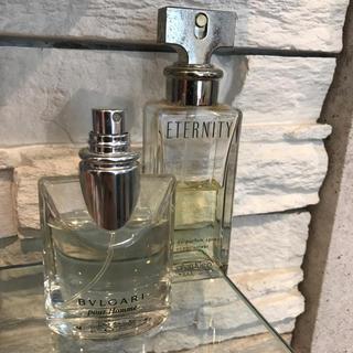 check out ab4bf a248d ブルガリ カルバンクライン 香水 コロン セット