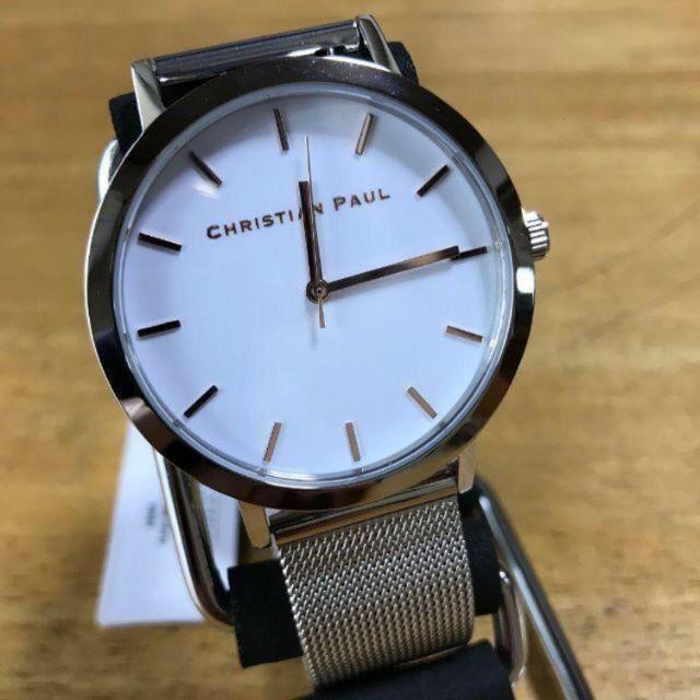 新品✨クリスチャンポール 腕時計 レディース クォーツ RWS4320-Rの通販 by てっちゃん(´∀`)|ラクマ