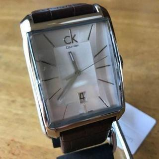 カルバンクライン(Calvin Klein)のカルバン クライン ウィンドウ クオーツ 腕時計 K2M21126 シルバー(腕時計(アナログ))
