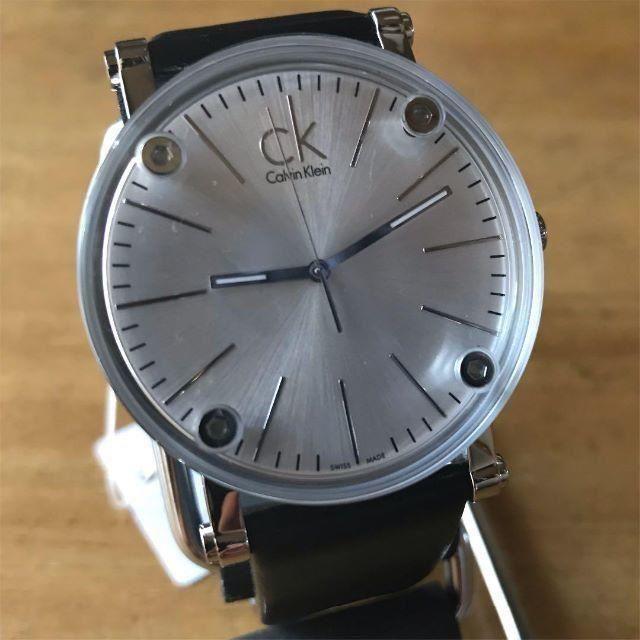 Calvin Klein - 新品✨カルバンクライン CK クオーツ メンズ 腕時計 K3B2T1C6の通販 by てっちゃん(´∀`)|カルバンクラインならラクマ
