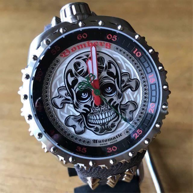 新品✨ボンバーグ BOMBERG 500本限定 BOLT-68 腕時計 シルバーの通販 by てっちゃん(´∀`)|ラクマ
