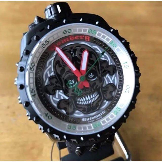 新品✨ボンバーグ BOMBERG 500本限定 BOLT-68 腕時計 ブラックの通販 by てっちゃん(´∀`)|ラクマ