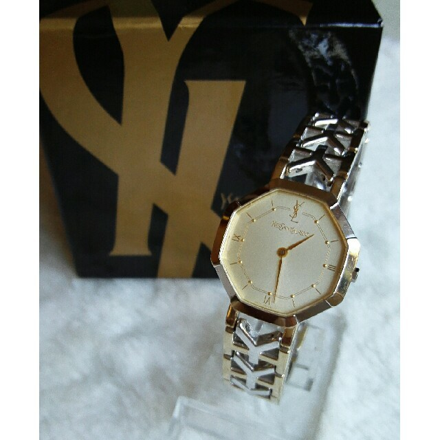 Saint Laurent - イヴサンローラン腕時計 クォーツ の通販 by ペペロン|サンローランならラクマ