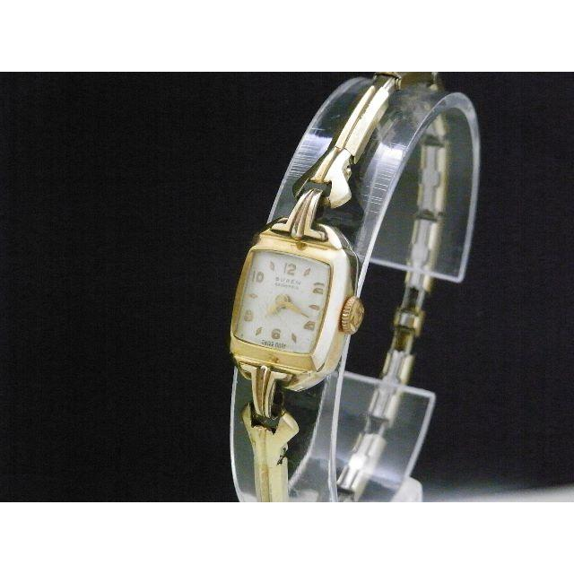 BUREN GRAND PRIX 手巻き腕時計 ゴールド アンティークの通販 by Arouse 's shop|ラクマ
