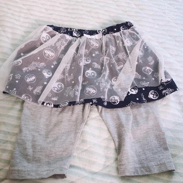 アンパンマン(アンパンマン)のスカートズボン キッズ/ベビー/マタニティのキッズ服 女の子用(90cm~)(スカート)の商品写真