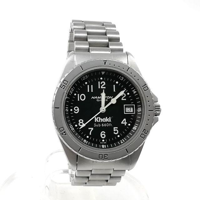 Hamilton - 希少 ハミルトン カーキ 腕時計 シルバー 稼働品 メンズ ZM34の通販 by URINA's shop|ハミルトンならラクマ