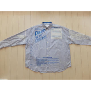 18aw doublet FREEZER-BAG PACKAGE SHIRT (シャツ)