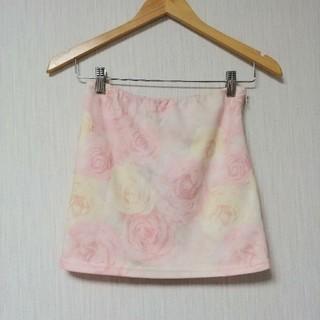 リップサービス(LIP SERVICE)のバラ柄スカート(ミニスカート)