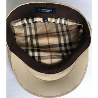 BURBERRY - バーバリーハンチング帽