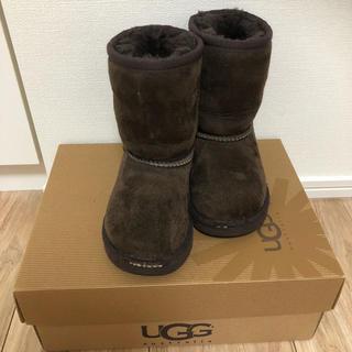 アグ(UGG)のUGG ムートンブーツ子供用14-15センチ(ブーツ)