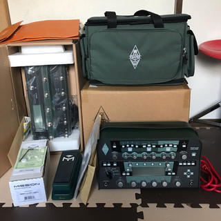 KEMPER パワーアンプ内蔵+REMOTE+EXPペダル+バッグ+豪華おまけ(ギターアンプ)