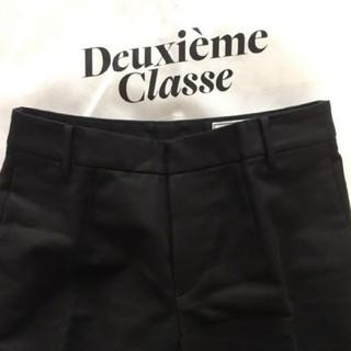 ドゥーズィエムクラス(DEUXIEME CLASSE)のsale☆ドゥーズィエムクラス クロップドパンツ 34(クロップドパンツ)