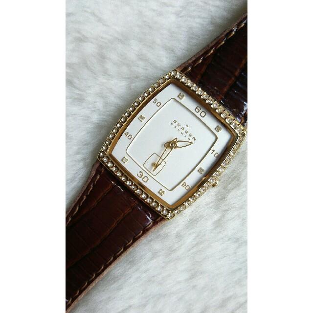 SKAGEN - スカーゲン腕時計 レディースクォーツの通販 by ペペロン|スカーゲンならラクマ