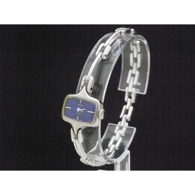 SEIKO - Seiko ヴィンテージ 手巻き腕時計 17JEWELS ブルーダイアルの通販 by Arouse 's shop|セイコーならラクマ
