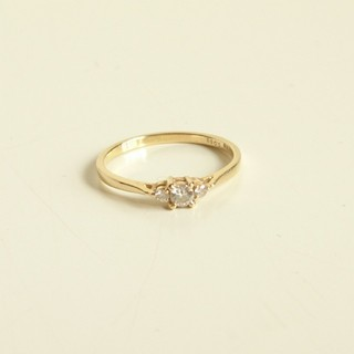 アーカー(AHKAH)のk18ダイヤモンド ドレスアドレス リング 指輪(リング(指輪))