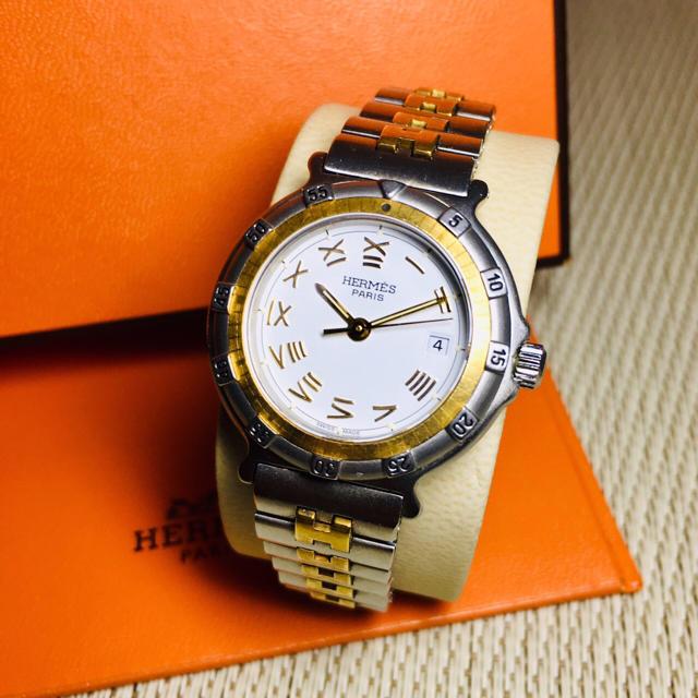 Hermes - 【超美品 正規品】エルメス 腕時計 レディース キャプテンニモ H 【H16】の通販 by 即購入okです^_^|エルメスならラクマ