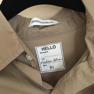 マディソンブルー(MADISONBLUE)のMADISONBLUEマディソンブルーJ.BRADREYシャツ(カットソー(長袖/七分))