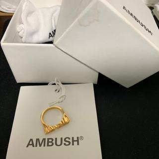 AMBUSH ロゴ リング 指輪(リング(指輪))