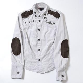 ディーゼル(DIESEL)の◆DIESEL◆sizeM elbow putch jacket(ミリタリージャケット)