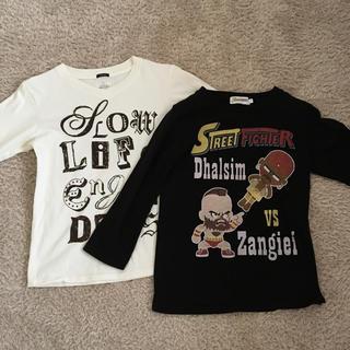 イッカ(ikka)の男児7分袖Tシャツ2枚セット 140サイズ(Tシャツ/カットソー)