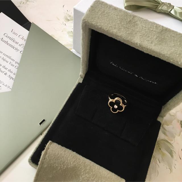 ヴァンクリーフ&アーペル     オニキスリング レディースのアクセサリー(リング(指輪))の商品写真