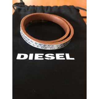 ディーゼル(DIESEL)のディーゼルのレザーブレスレット 新品未使用(ブレスレット/バングル)