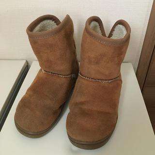 ムジルシリョウヒン(MUJI (無印良品))の無印良品 ボアブーツ 16センチ(ブーツ)