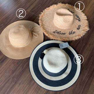 エイチアンドエム(H&M)のH&M帽子ハットリゾート麦わら帽子ZARA(麦わら帽子/ストローハット)