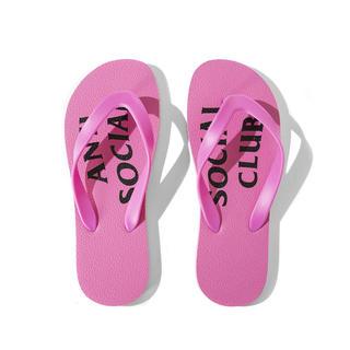 シュプリーム(Supreme)のAnti Social Social Club UFO Pink Slipper(サンダル)