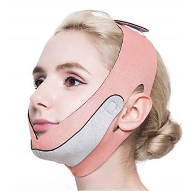 小顔 矯正 顔痩せ グッズ フェイスマスク ベルト メンズ レディース の通販