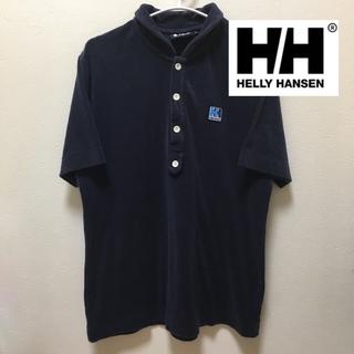 HELLY HANSEN - ヘリーハンセン HELLY HANSEN ポロシャツ ブルー 紺  タオル生地