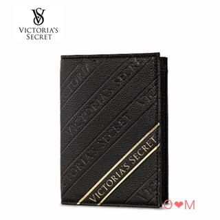 ヴィクトリアズシークレット(Victoria's Secret)の新作!VICTORIA'S SECRET パスポートケース/ブラック(その他)