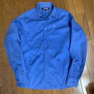 ラフシモンズ(RAF SIMONS)のRaf simonsラフシモンズ長袖シャツ shirts ドレス ブルー(シャツ)