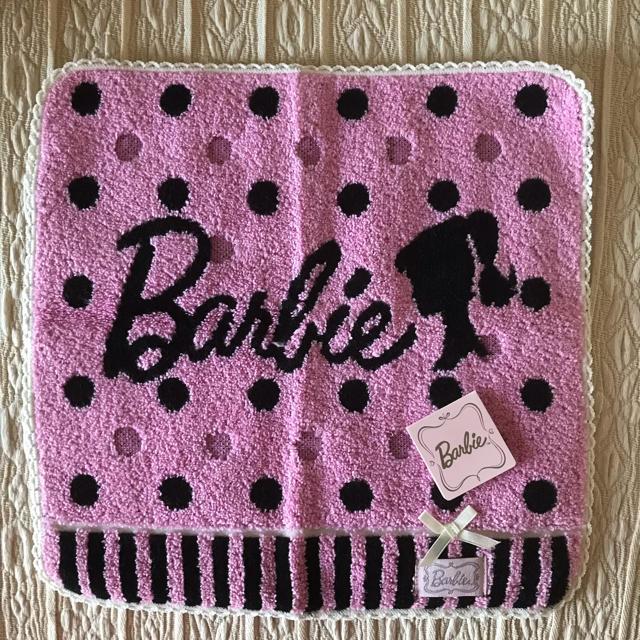 Barbie(バービー)のBarbie タオルハンカチ * タグ付き新品 レディースのファッション小物(ハンカチ)の商品写真