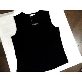 レオナール(LEONARD)の美品 LEONARD ノースリーブカットソー(Tシャツ(半袖/袖なし))