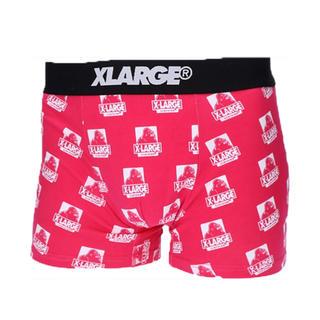 エクストララージ(XLARGE)のXLARGE プリントボクサーパンツ ピンク(ボクサーパンツ)