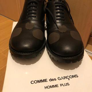 コムデギャルソンオムプリュス(COMME des GARCONS HOMME PLUS)のコムデギャルソンの靴(ドレス/ビジネス)