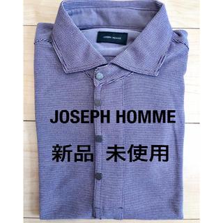 JOSEPH - ジョゼフ オム 半袖 シャツ 46 メンズ 紫 パープル M オンワード樫山