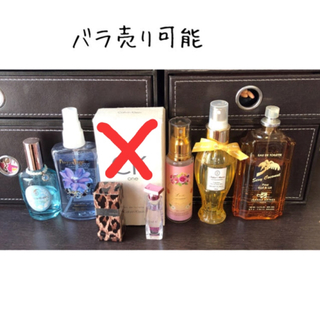 カルバンクライン(Calvin Klein)の香水 まとめ売り(香水(女性用))