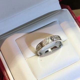 カルティエ(Cartier)の送料込み Cartier リング レディース 指輪 美品 新品(リング(指輪))