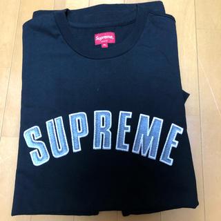 シュプリーム(Supreme)のsupreme printed arc s/s top XL black (Tシャツ/カットソー(半袖/袖なし))