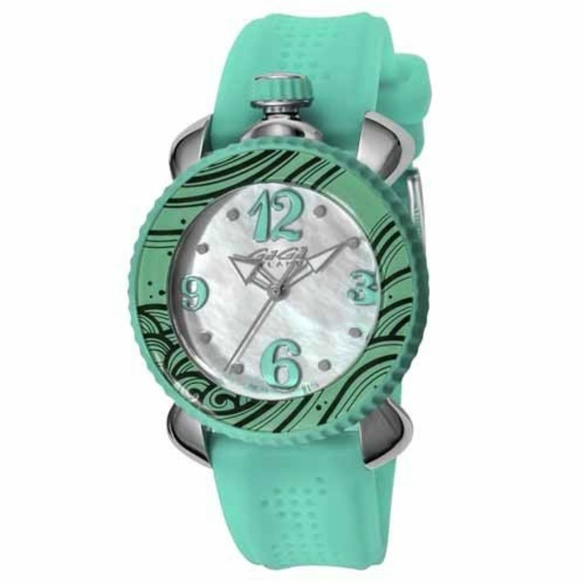 GaGa MILANO - GAGA MILANO ガガミラノ 腕時計 Lady Sport グリーンの通販 by  miro's shop|ガガミラノならラクマ