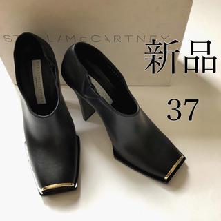 Stella McCartney - 新品37/ブラック ステラ マッカートニー ブーティ ショート ブーツ