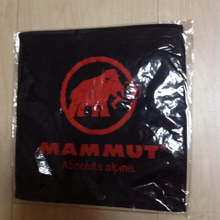 マムート(Mammut)のmammut、マムート、タオル  、新品(登山用品)