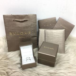 ブルガリ(BVLGARI)のブルガリ FEDI ダイヤモンド 結婚指輪 PT950(リング(指輪))
